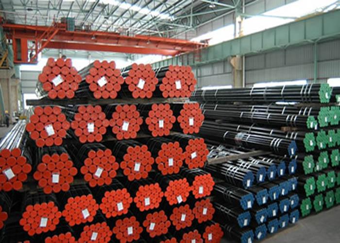 API 5L, API 5CT, ASTM A106 / A53, DIN 2391, EN10305, EN10210 Alloy Carbon Pibell ddur di-dor